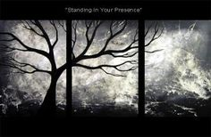 Landscape painting - Standing in Your Presence