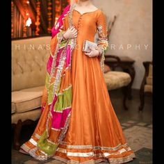 For order or details inbox us or what's app at 0092 3322333050 Pakistani Fashion Party Wear, Pakistani Wedding Outfits, Pakistani Wedding Dresses, Bridal Outfits, Simple Pakistani Dresses, Pakistani Dress Design, Indian Dresses, Stylish Dresses For Girls, Stylish Dress Designs