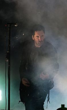 Trent Reznor / Nine Inch Nails at Day For Night Festival, Houston, TX - December 16, 2017 Day For Night Festival, Trent Reznor, Nine Inch Nails, Beautiful Voice, App Ui, Houston Tx, Rockers, Ui Design, Concerts