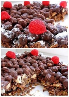 ChefCricket: Ropogós csokis mogyorós torta