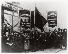 """""""Demonstration of protest and mourning for Triangle Shirtwaist Factory fire of March 25, 1911"""""""