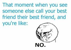 So true and then when you talk to the other person and they are like OMG I hate her.