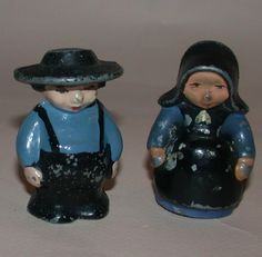 Amish Couple Salt and Pepper