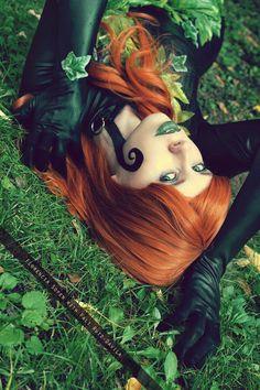 • Model and cosplay: Me [Whitelemon - Jillian - Florencia Sofen Muir] as Poison Ivy [ New 52 Birds Of Prey/Batman/ Harley Quinn from DC Comics ] • Photo: -Fali Ruiz-Davila Edit: Me My f...