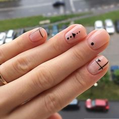 Have you heard of the idea of minimalist nail art designs? These nail designs are simple and beautiful. You need to make an art on your finger, whether it's simple or fancy nail art, it looks good. Of course, you may have seen many simple and beaut Nail Art Cute, Beautiful Nail Art, Cute Nails, Gorgeous Nails, Minimalist Nails, Minimalist Beauty, Nail Art Designs, Nails Design, Design Art