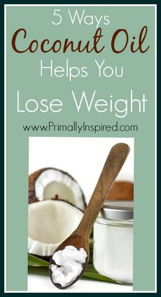 Coconut Oil is the world's most weight loss friendly fat. Learn about 5 ways coconut oil can help you lose weight!