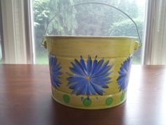 Decortive Hand Painted Pot