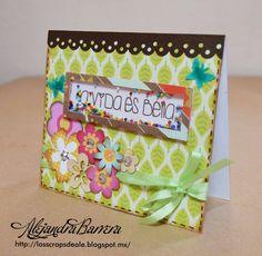 Shaker Card para reto de Tan Linda Ella