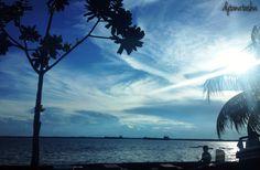 Diujung Senja Balikpapan, Kalimantan Timur Indonesia