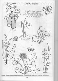 16 Spring Activities, Activities For Kids, School Clubs, Spring Crafts, Adult Coloring Pages, Spring Flowers, Kids And Parenting, Art Projects, Stencils