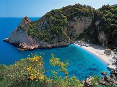 Fakistra Beach, Pelion, Greece - I wonder if it's always that empty...
