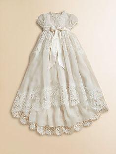 Dolce & Gabbana Infant's Lace Baptism Dress
