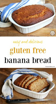 images about Foods Gluten-Free on Pinterest | Gluten free banana bread ...