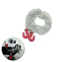 Cheap Buy Quality rc crawler directly from China rc crawler accessories Suppliers: RC Crawler Accessories Tow Chain with Trailer Hook for Axial 90046 TAMIYA RC Climbing Car Rc Rock Crawler, Escalade, Chenille, Remote Control Toys, Toy Trucks, Tamiya, Car Parts, Chain, Stuff To Buy