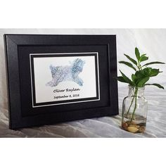 Perfect baby shower or baptism gift. Decor for nursery and child's room. It's a boy!