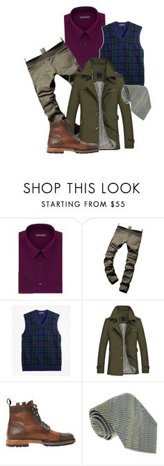 """""""Untitled #169"""" by avant-gardeofstyle ❤ liked on Polyvore featuring Geoffrey Beene, Brooks Brothers, Lanvin, Missoni, men's fashion and menswear"""