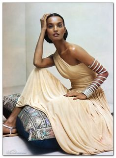 Ethiopia's Liya Kebede is our model of the day