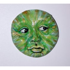 Green Goddess Face ready for you to use in your Art by dolphindaze, $10.00
