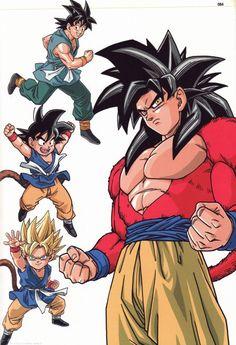 dragon ball z y dragon ball gt´s goku Dbz, Goku 4, Son Goku, Dragon Ball Gt, Dragon Z, Akira, Anime Echii, Anime Kawaii, Z Warriors