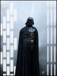 Darth Vader by AndyFairhurst.deviantart.com on @deviantART