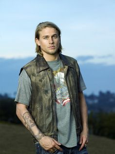 if it were somehow possible to flawlessly combine brad pitt and kurt cobain, this is what that would look like.