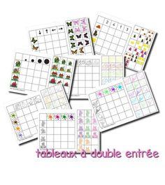 12 tableros de doble entrada Autism Activities, Montessori Activities, Kindergarten Activities, Logic Games, Logic Puzzles, Sudoku Puzzles, Carroll Diagram, Act Math, Blends And Digraphs
