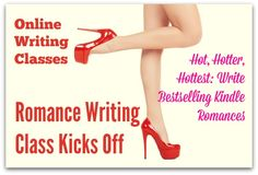 Online Writing Classes: Romance Writing Class Kicks Off - our Kindle romances class has just started. Over the period of the class, you'll self-publish your own story on Amazon:  http://angelabooth.com/wp/2014/03/26/online-writing-classes-romance-writing-class-kicks/