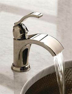 wide flow bathroom faucet