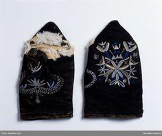 Handskar, mönstrade, Blekinge