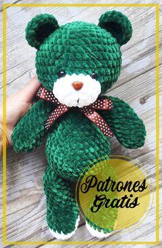 Crochet Basket Pattern, Crochet Patterns, Crochet Bear, Crochet Stitches, Free Pattern, Teddy Bear, Charts, Handmade Fabric Purses, Knitting And Crocheting