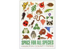 Space for All Species Poster — Charley Harper Gallery