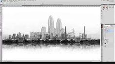 generative cityscapes based on music on Vimeo
