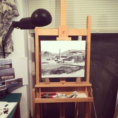 WIP #illustration #painting #tatsurokiuchi #art #drawing #life #lifestyle #happy #japan #people #木内達朗 #イラスト #イラストレーション #oilpainting #process