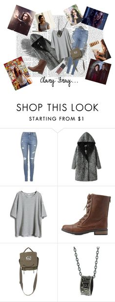 """clary fray outfit"" by elena-light178 ❤ liked on Polyvore featuring Topshop, Charlotte Russe and Rococo"