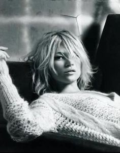 Kate Moss - hair