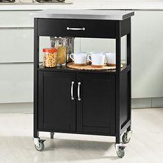 SoBuy® Küchenwagen, Küchenschrank, Rollschrank, Küchenregal,FRG12 ... | {Küchenwagen mit granitplatte 35}