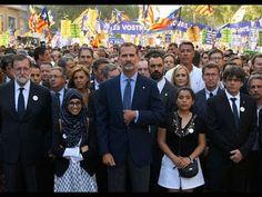 #Terrorismo El Rey acude a la multitudinaria manifestación contra el terrorismo de Barcelona: Don Felipe se une a las autoridades y a los…