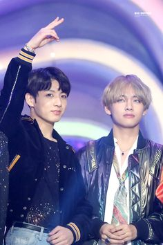 Jungkook and Taehyung, which comes out to VKOOK!!!!!!!
