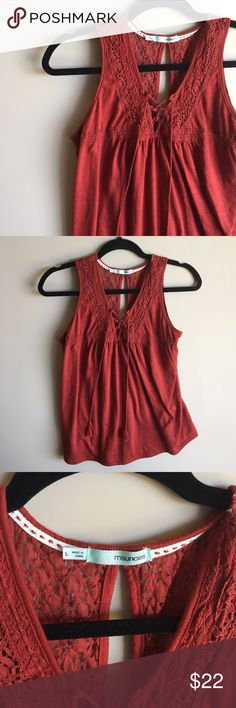Red Maurice's Tank Top Worn once• No Trades or Modeling• Fast Shipping• Accepting reasonable offers Maurices Tops Tank Tops