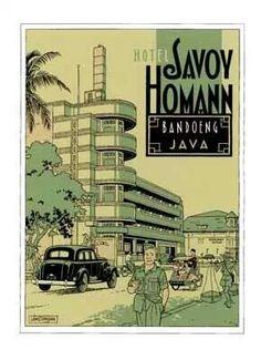 Hotel Savoy Homann, Bandoeng, Java