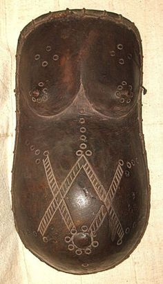 African Makonde Body Mask Sculpture Africa sfmb23