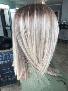 Clairol Shimmer Lights Original Shampoo Blonde and Silver 8 oz. ash blonde ombre dark roots silver soft golden beige hair highlights ash blonde… – … - Hairstyles For All Medium Hair Styles, Short Hair Styles, Clairol Hair Color, Winter Hairstyles, Thin Hairstyles, Hairstyles 2016, Long Blonde Hairstyles, Cute Medium Length Hairstyles, Blonde Haircuts