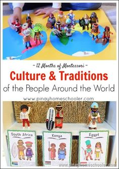 12 Months of culture and traditions through Montesorri teachng. Great for homeschooling or for the classroom.