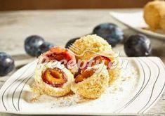 Plum Dumplings, Food Inspiration, Healthy Snacks, Food And Drink, Veggies, Sweets, Dishes, Cooking, Breakfast