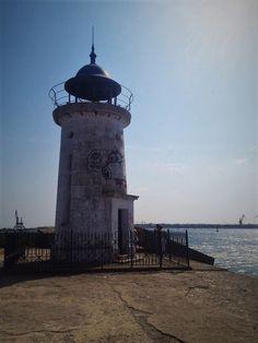 Lighthouse in Mangalia, Romania. Black Sea, Romania, Lighthouse, Pictures, Travel, Bell Rock Lighthouse, Photos, Light House, Viajes