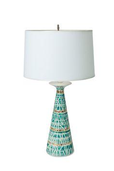 Vintage Ceramic Lamp by Market27 on Etsy, $385.00