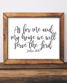 Joshua As for me and my house we will serve the Lord, Scripture Printable Wall Art, Bible Verse, Christian home decor, Gracie Lou Printables Quirky Home Decor, French Home Decor, Cute Home Decor, Natural Home Decor, Indian Home Decor, Handmade Home Decor, Cheap Home Decor, Cheap Office Decor, Entryway Decor