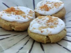 Gluten Free Lemon Coconut Cookies (use flax egg)