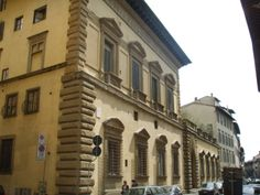 Palazzo Pandolfini, Florence, Italy; designed between 1513-1514 by Raphael; construction begun in 1516 under the direction of Raphael's assistant Giovanfrancesco da Sangallo and his brother Bastiano, called 'Aristotile' da Sangallo.