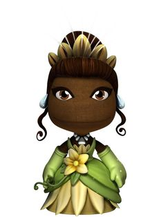 Tiana from Princess and the Frog- LBP